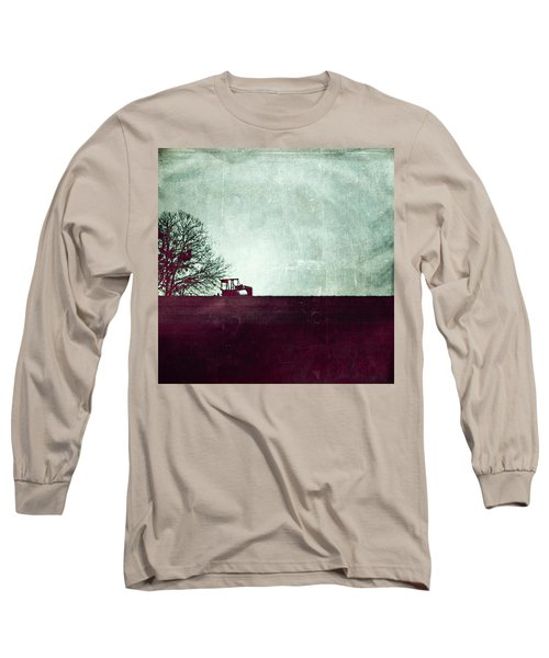 All That's Left Behind Long Sleeve T-Shirt by Trish Mistric