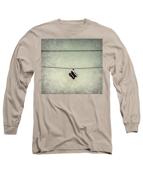 Long Sleeve T-Shirt featuring the photograph All Tied Up by Melanie Lankford Photography