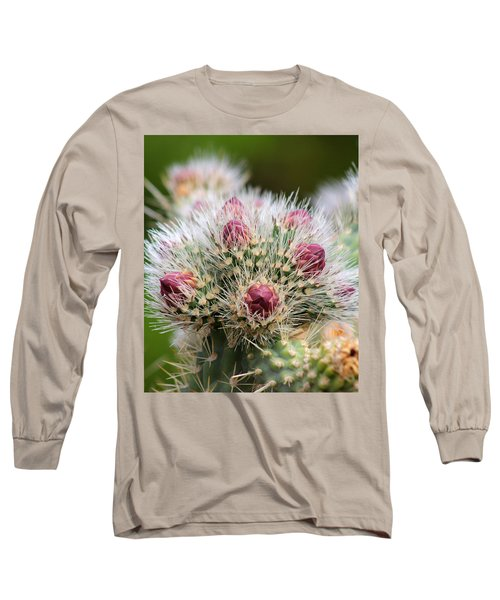 Long Sleeve T-Shirt featuring the photograph Almost by Tammy Espino