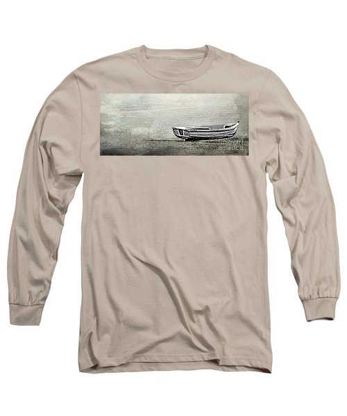 Long Sleeve T-Shirt featuring the photograph Alone by Linsey Williams