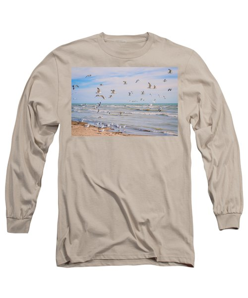 Along The Beach Long Sleeve T-Shirt
