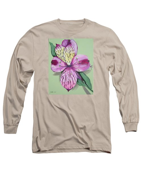 Alstroemeria No.1 Long Sleeve T-Shirt