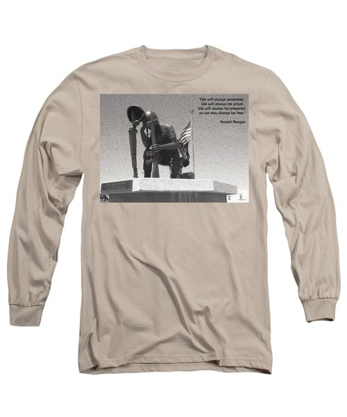 Long Sleeve T-Shirt featuring the photograph Always Remember by Glenn McCarthy Art and Photography