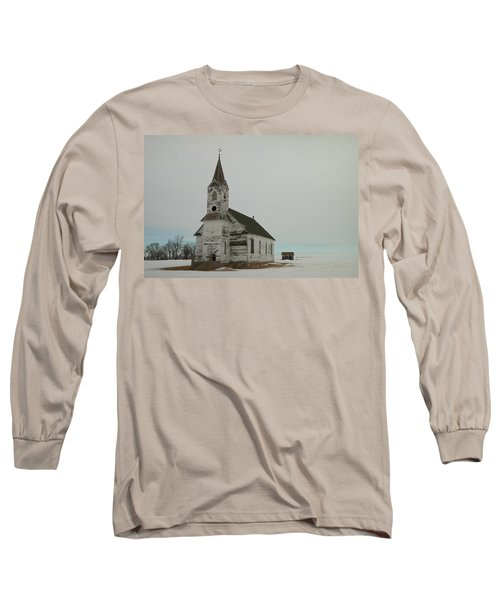 Amazing Grace In North Dakota Long Sleeve T-Shirt