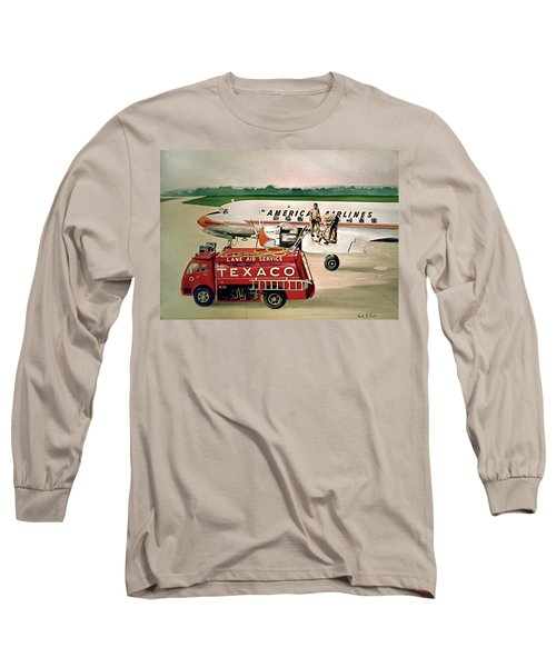 American Dc-6 At Columbus Long Sleeve T-Shirt