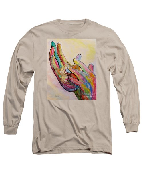 American Sign Language Jesus Long Sleeve T-Shirt
