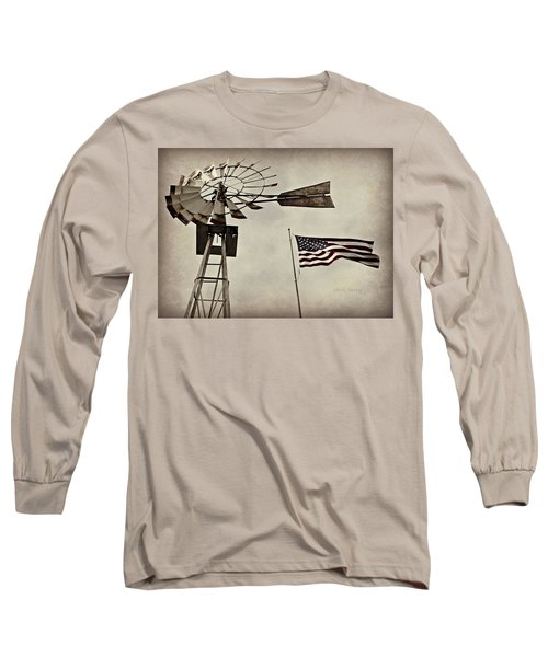 Americana Long Sleeve T-Shirt by Chris Berry