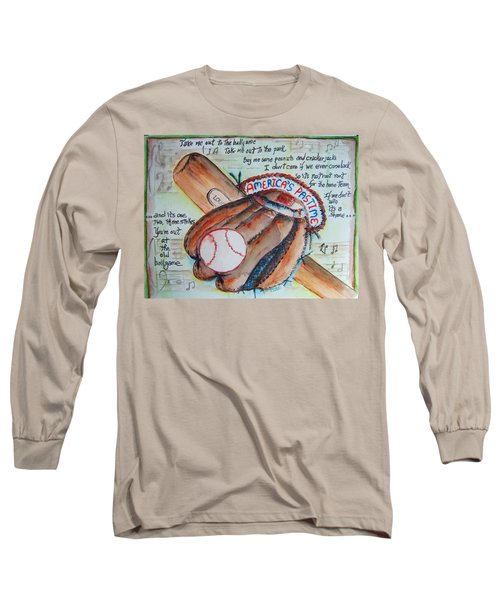 Americas Pastime II Long Sleeve T-Shirt