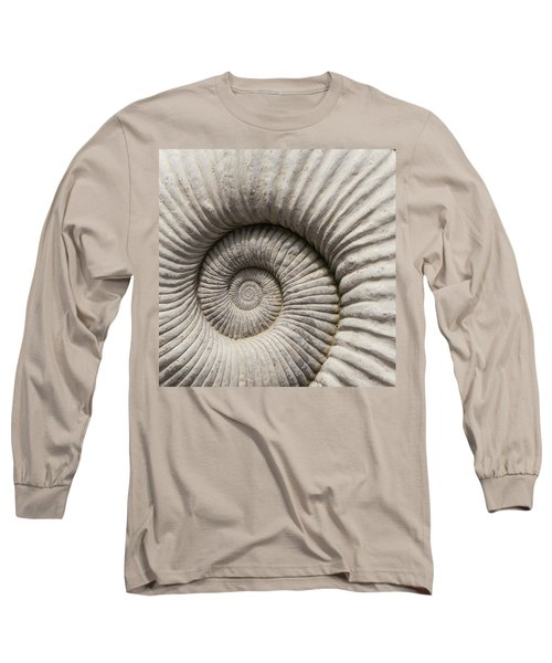 Ammonites Fossil Shell Long Sleeve T-Shirt