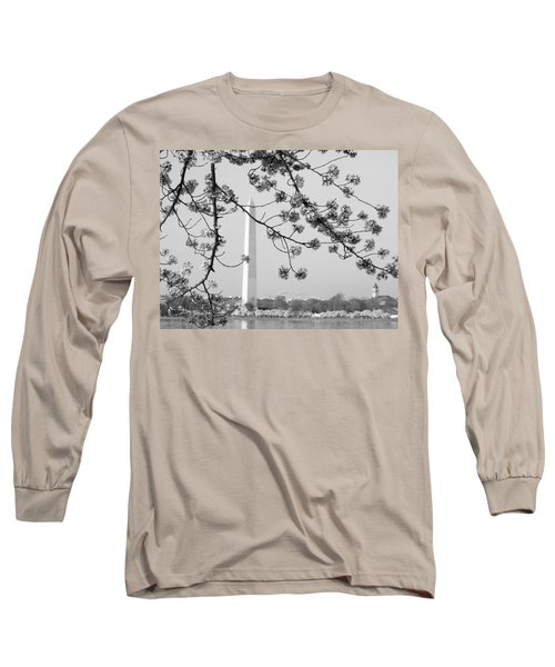 Long Sleeve T-Shirt featuring the photograph Amongst The Cherry Blossoms by Emmy Marie Vickers