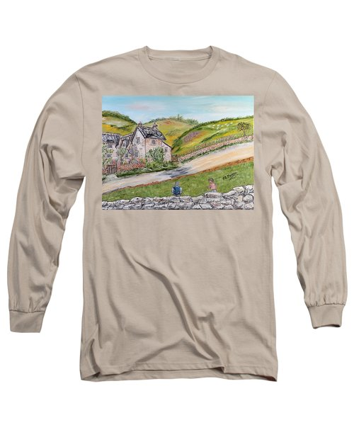 An Afternoon In June  Long Sleeve T-Shirt