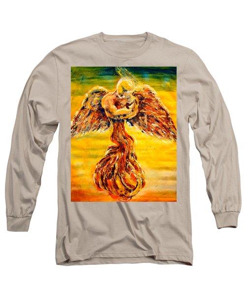 An Angels Love Long Sleeve T-Shirt