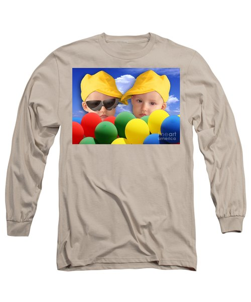 An Image Of A Photograph Of Your Child. - 07a Long Sleeve T-Shirt
