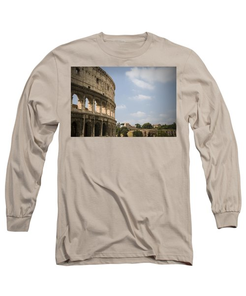 Ancient Colosseum Long Sleeve T-Shirt