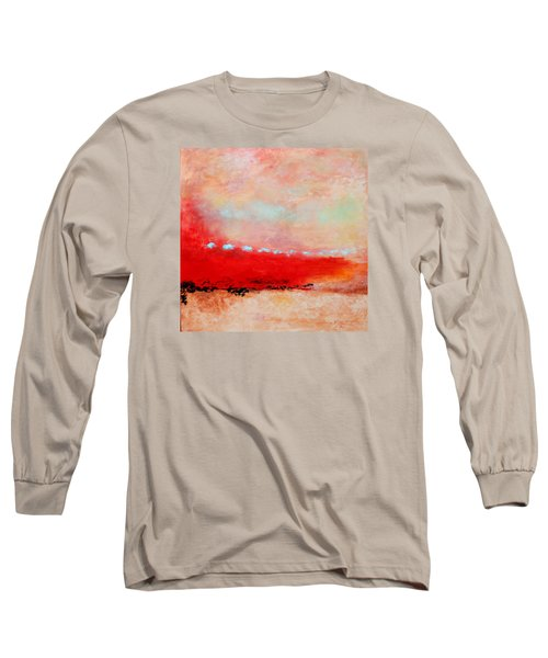 Long Sleeve T-Shirt featuring the painting Ancient Dreams by M Diane Bonaparte
