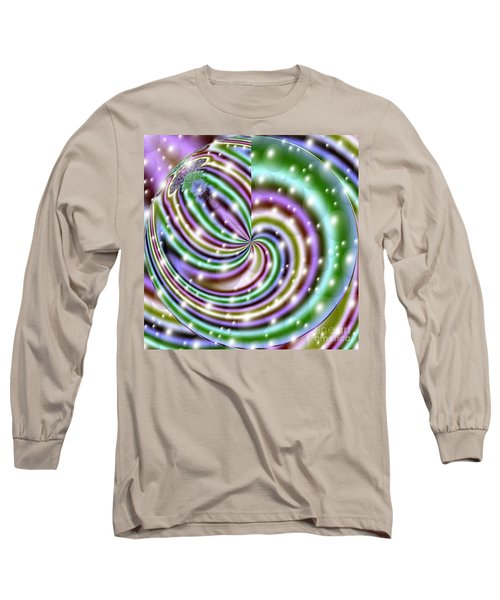 Long Sleeve T-Shirt featuring the digital art And He Called Them Stars by Luther Fine Art