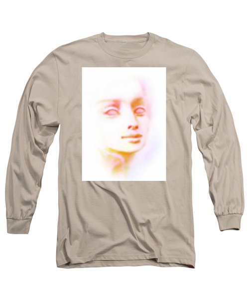 Long Sleeve T-Shirt featuring the painting Angel Angel Oh So Bright by Hartmut Jager