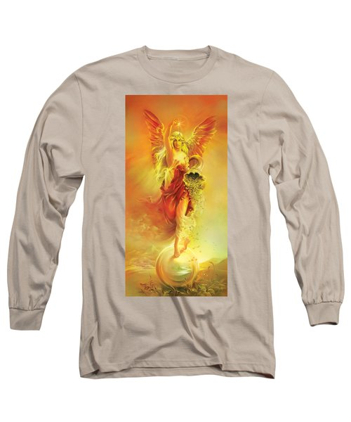 Angel Of Abundance - Fortuna Long Sleeve T-Shirt