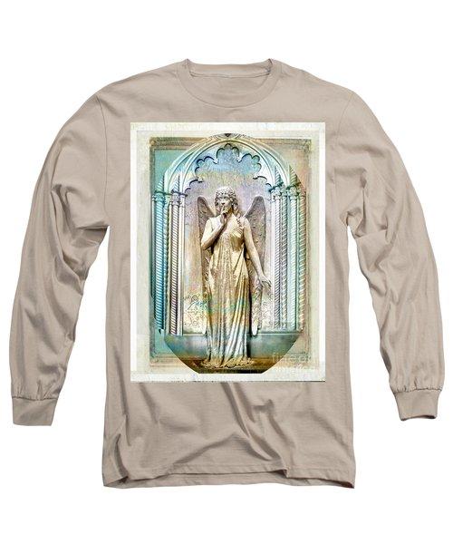 Angel Of Silence.genoa Long Sleeve T-Shirt