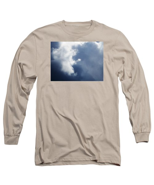 Cloud Angel Kneeling In Prayer Long Sleeve T-Shirt