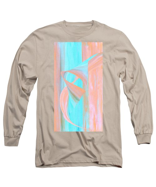 Long Sleeve T-Shirt featuring the digital art Angelfish by Stephanie Grant
