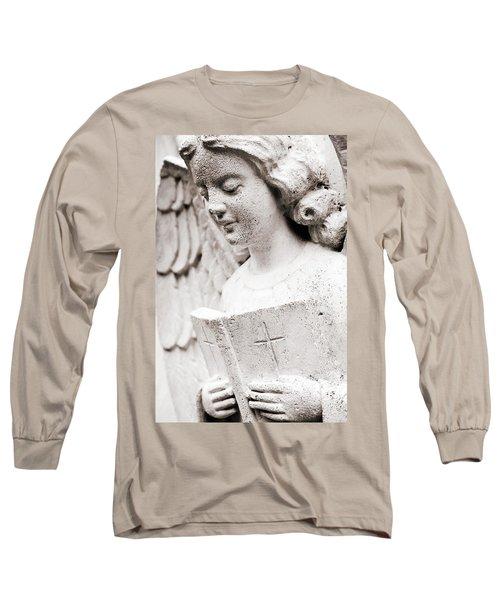 Angels Prayers And Miracles Long Sleeve T-Shirt