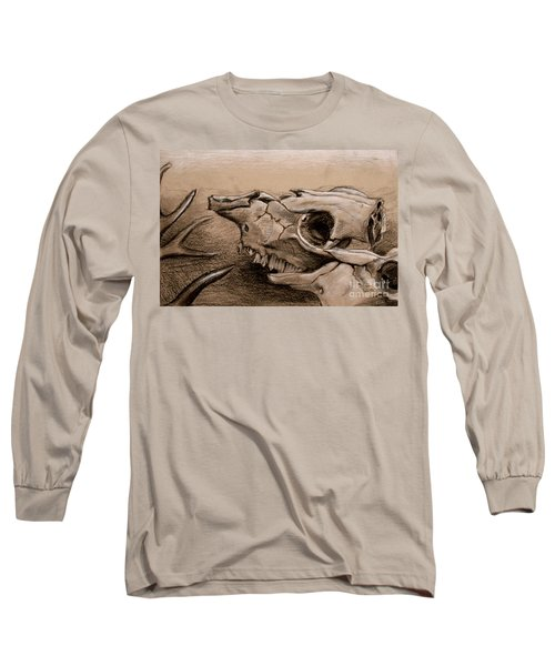 Animal Bones Long Sleeve T-Shirt by Samantha Geernaert
