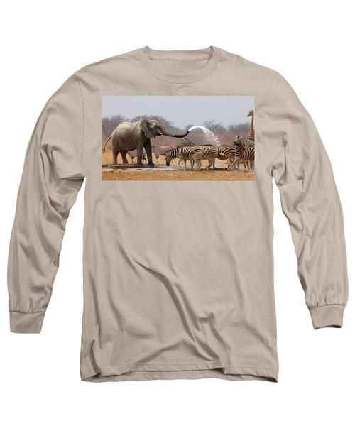 Animal Humour Long Sleeve T-Shirt