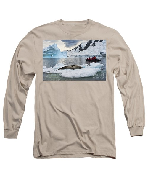 Antarctic Serenity... Long Sleeve T-Shirt