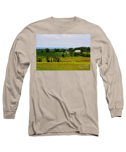 Antietam Battlefield And Mumma Farm Long Sleeve T-Shirt