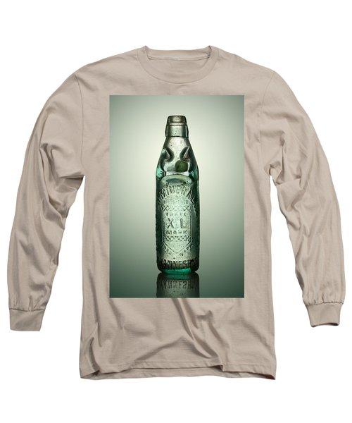 Antique Mineral Glass Bottle Long Sleeve T-Shirt