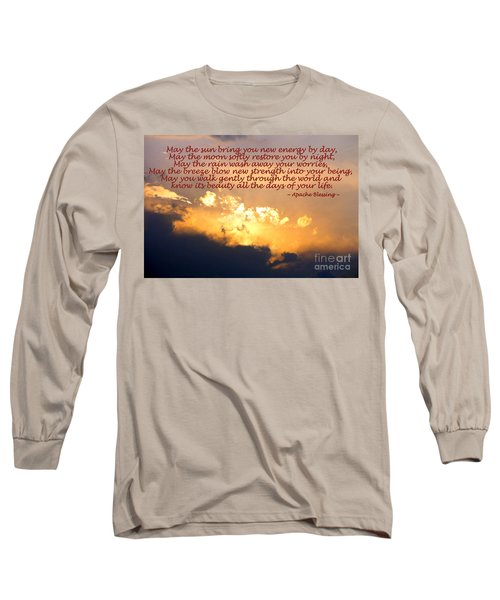 Apache Blessing  Long Sleeve T-Shirt