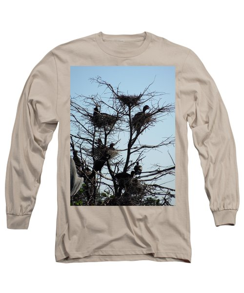 Apartment Building With One Vacancy Long Sleeve T-Shirt