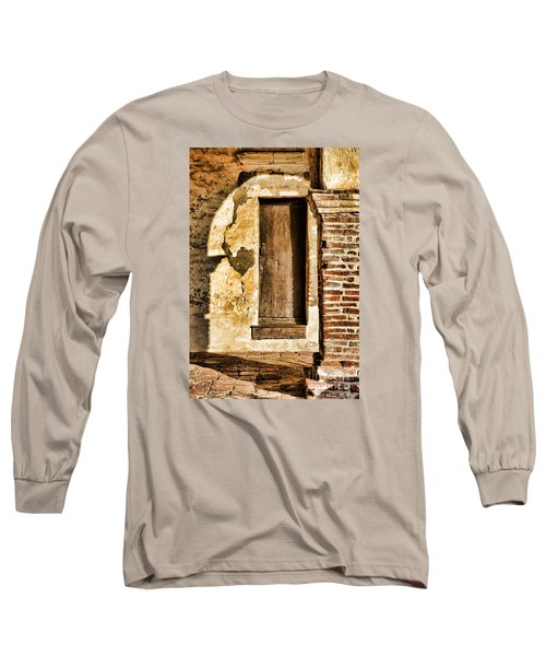 Arched Shadow By Diana Sainz Long Sleeve T-Shirt