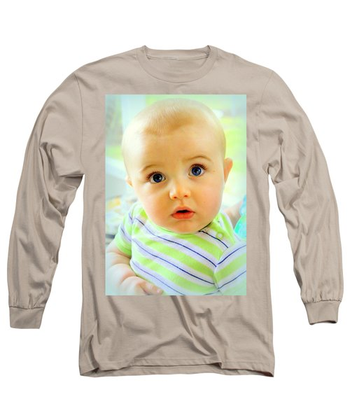 Are You Talking To Me Long Sleeve T-Shirt by Faith Williams