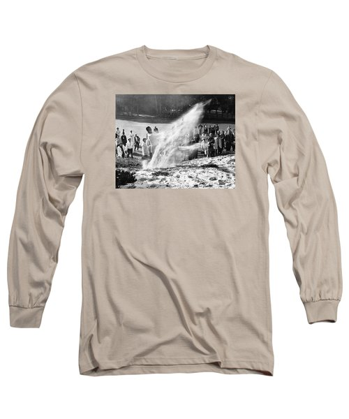 Arnold Palmer At Pebble Beach California Rey Ruppel Photo Circa 1955 Long Sleeve T-Shirt