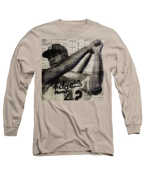 Art In Thenews 16-jackie Long Sleeve T-Shirt