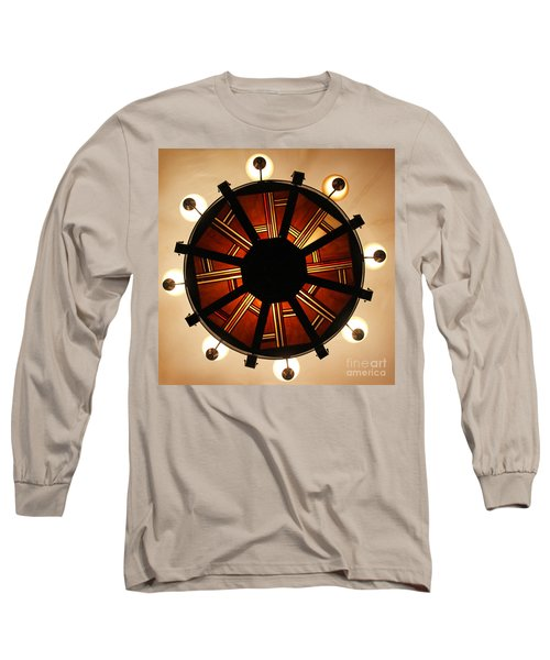 Arts And Crafts Chandelier At Summit Inn Long Sleeve T-Shirt