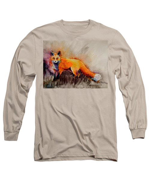 Assessing The Situation Long Sleeve T-Shirt by Beverley Harper Tinsley