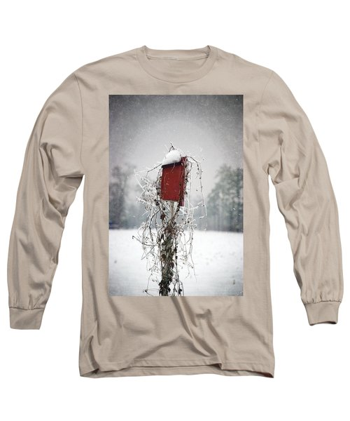 At Home In The Snow Long Sleeve T-Shirt