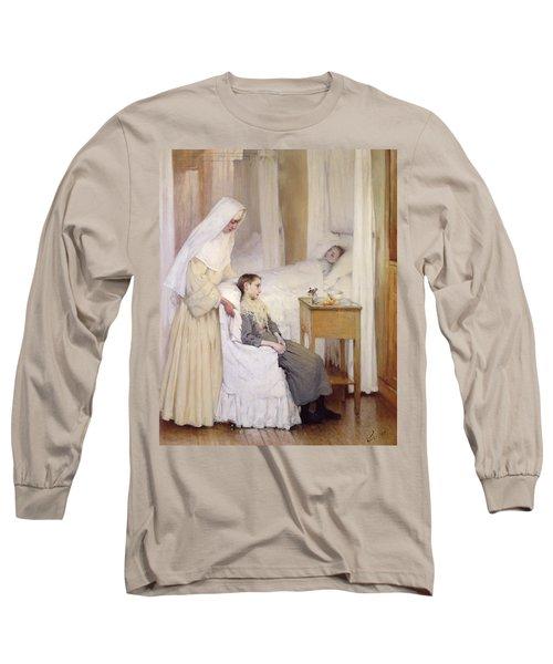 At Notre-dame Du Perpetuel Bon Secours Hospital Long Sleeve T-Shirt