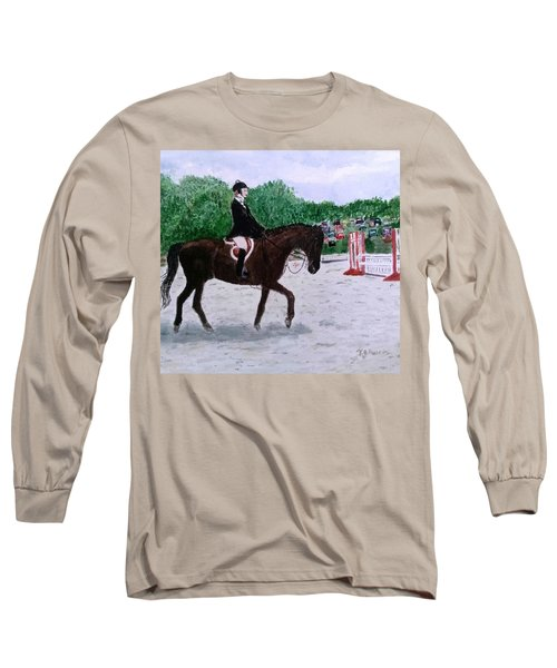 At The June Fete Long Sleeve T-Shirt by Vickie G Buccini
