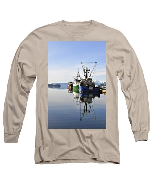 Auke Bay Reflection Long Sleeve T-Shirt by Cathy Mahnke