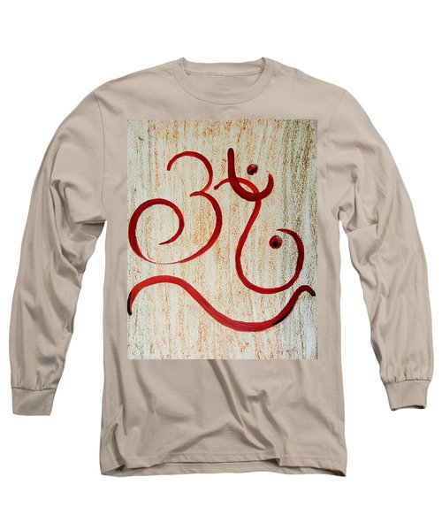 AUM Long Sleeve T-Shirt by Kruti Shah