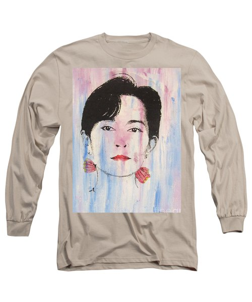 Aung San Suu Kyi Long Sleeve T-Shirt