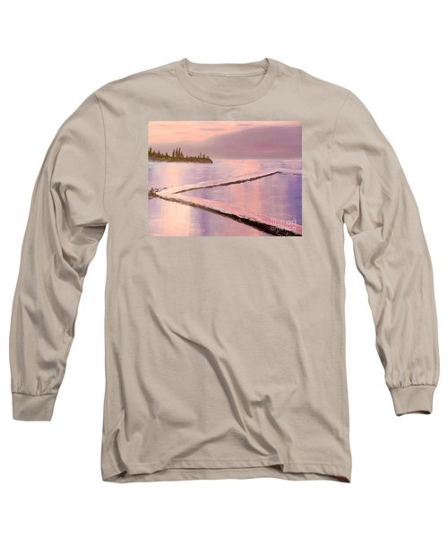 Austinmer Pool At Sunset Long Sleeve T-Shirt