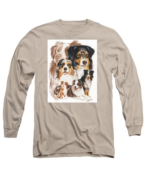 Australian Shepherd Revamp Long Sleeve T-Shirt