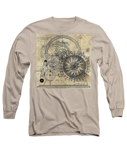 Autowheel II Long Sleeve T-Shirt by James Christopher Hill