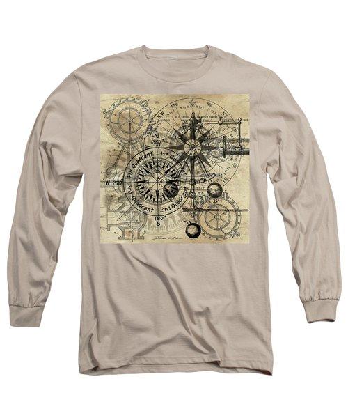 Autowheel IIi Long Sleeve T-Shirt by James Christopher Hill
