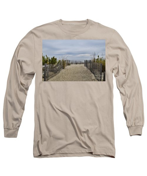 Autumn At The Beach Long Sleeve T-Shirt